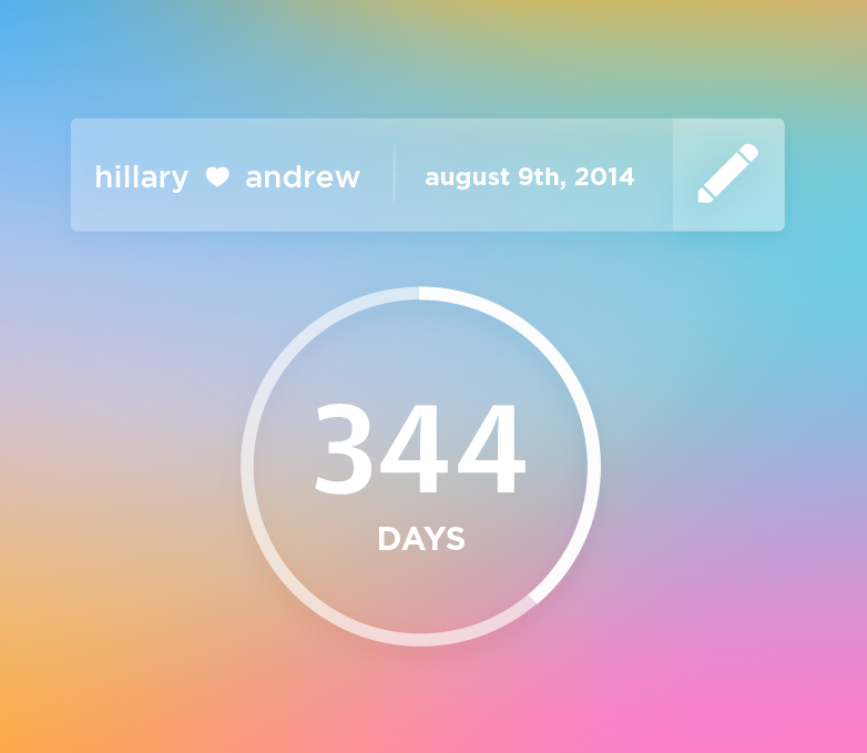 Android Countdown Widget