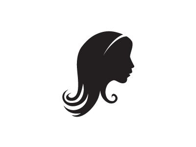 Girl Silhouette Logo