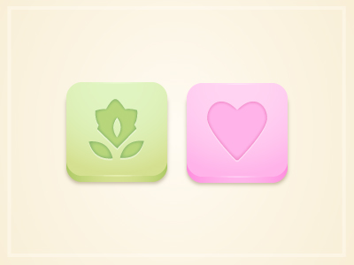 Candy Application Icons