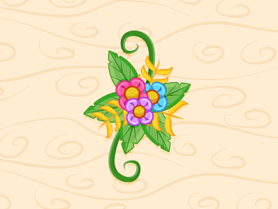 Flowers from Illustrator