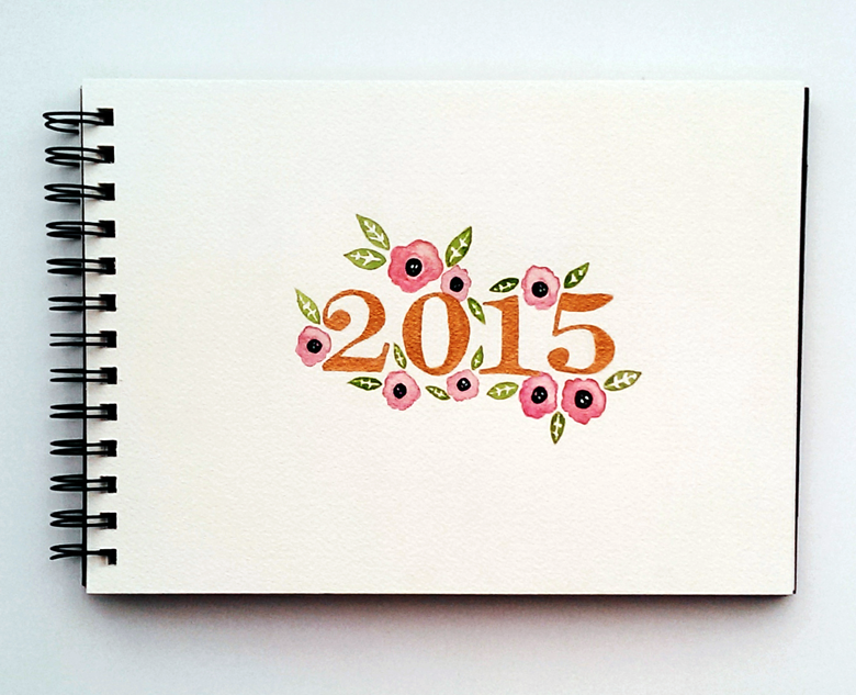 2015 Watercolor Flowers by Hillary Proctor